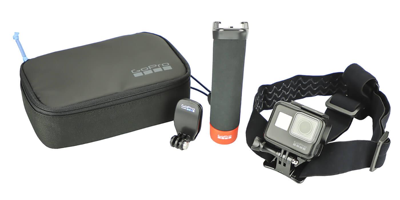 Набор аксессуаров Adventure Kit GoPro (AKTES-001) комплектация