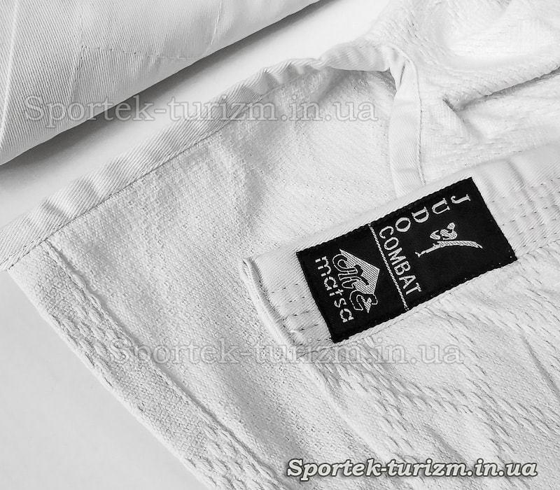 Структура ткани кимоно для дзюдо COMBAT