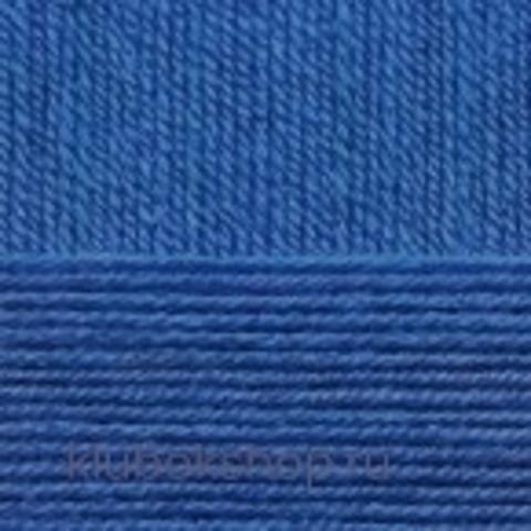 Пряжа Детская объемная (100 г/ моток) Пехорка 26 Василек - купить в интернет-магазине недорого klubokshop.ru