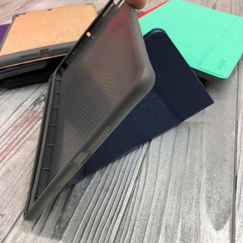 Чехол Origami Case iPad mini 1/2/3/4/5 Leather embossing /gray/