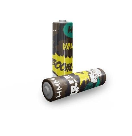 Термоусадка для аккумуляторов 18650 - 4 шт