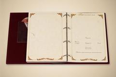 Родословная книга Элитная (кожа с тиснением и литыми уголками)