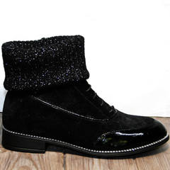 Ботинки чулки Kluchini 5161 k255 Black