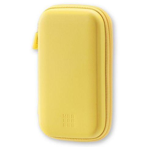 Чехол для путешествий Moleskine Journey Pouch SMALL 70х110x30мм (в компл.:ремешок на запястье) желтый блистер