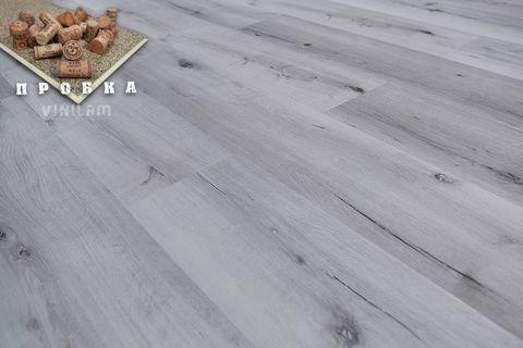 Кварц виниловый ламинат Vinilam New Prestige Gibrid Cork 10-064 Дуб Гент