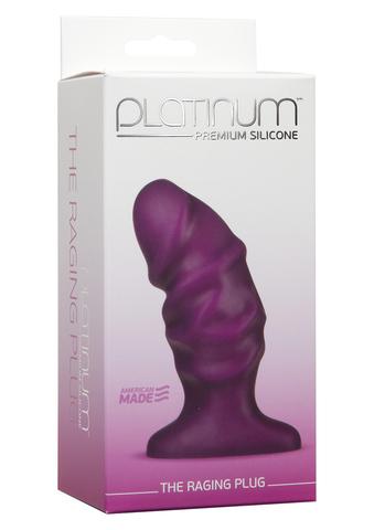 Анальный стимулятор Platinum Premium Silicone The Raging Plug, 11,5 см.