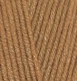 Пряжа Alize Lanagold 499 темный песок