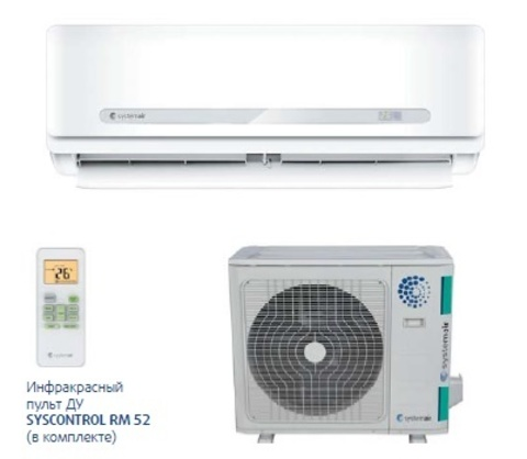 Systemair SYSPLIT WALL SMART 30 V3 HP Q