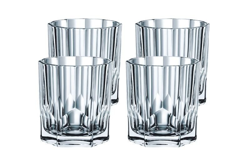 Набор низких стаканов для виски Nachtmann Aspen, 4 шт, 324 мл nachtmann набор стаканов для виски noblesse 295 мл 4 шт 89207 nachtmann
