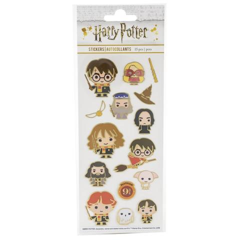 Стикеры Paper House Sticky Pix Faux Enamel Stickers - Harry Potter Characters
