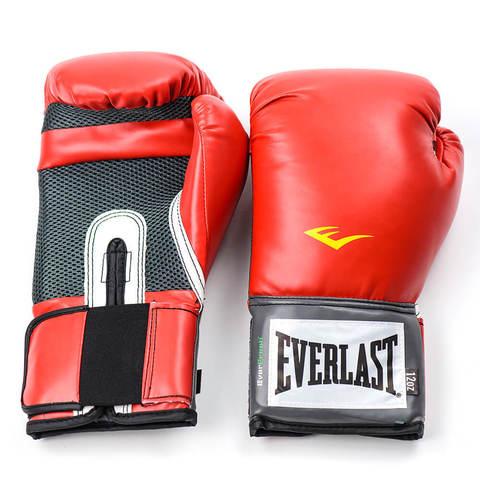Перчатки боксерские Pro Style Anti-MB Everlast красные
