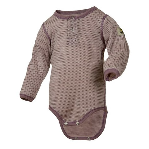 Janus, Боди Baby wool, лиловый