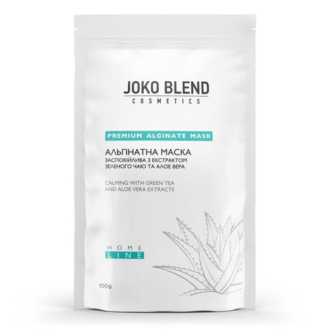 Альгинатная маска успокаивающая с экстрактом зеленого чая и алоэ вера Joko Blend 100 г (1)
