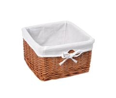 Плетеная корзина для ванной WasserKRAFT Dinkel WB-580-L