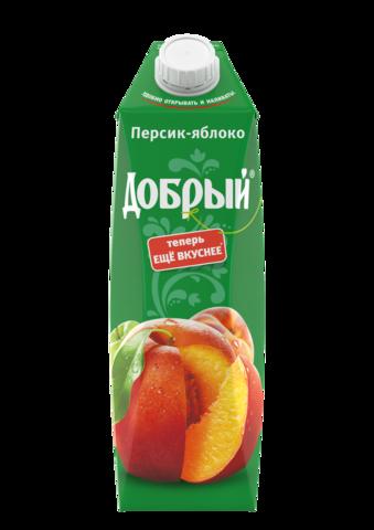 Нектар Добрый Персик-Яблоко 1л