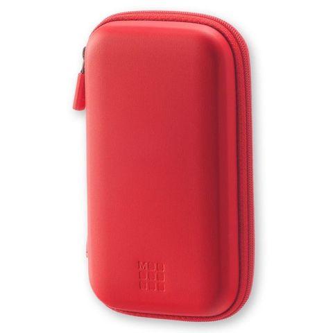 Чехол для путешествий Moleskine Journey Pouch SMALL 70х110x30мм (в компл.:ремешок на запястье) красный блистер