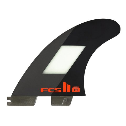 FCS II FT PC Tri Retail Fins Black Medium