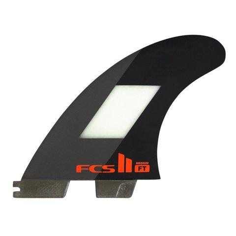 FCS II FT PC Tri Retail Fins Black Medium