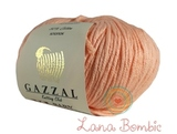 Пряжа Gazzal Baby Cotton XL  3412 персик