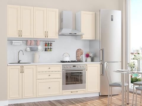 Кухня Шале-1 белый, ivory