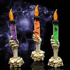 Ужасы декорация Светодиодная свеча