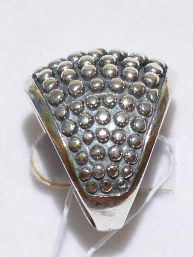 Шамбала (кольцо из серебра)