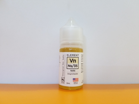Vanilla by ELEMENT SALT 30ml