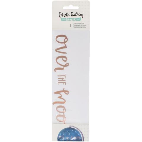 Украшение для глобуса -One Canoe Two Globe Gallery Vinyl Embellishment