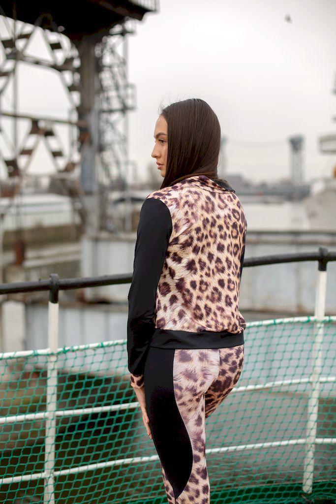 Леггинсы True Leopard