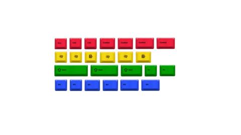 Набор клавиш «RGBK 24keys»