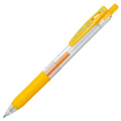 Ручка гелевая Zebra Sarasa Clip 0.4 Yellow