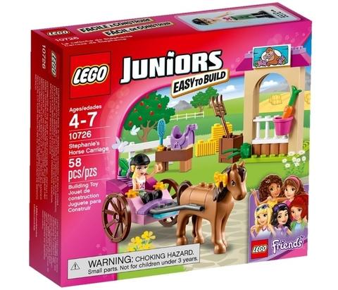 LEGO Juniors: Карета Стефани 10726 — Stephanie's Horse Carriage — Лего Джуниорс Подростки