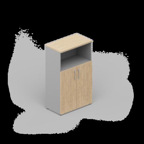 Шкаф комбинированный (2 двери + ниша)