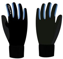 Перчатки Nordski Active WS Black-Blue 18