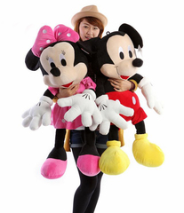 Дисней мягкие игрушки Микки и Минни Маус