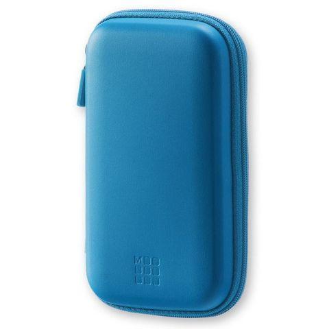 Чехол для путешествий Moleskine Journey Pouch SMALL 90х142x32мм (в компл.:ремешок на запястье) синий блистер