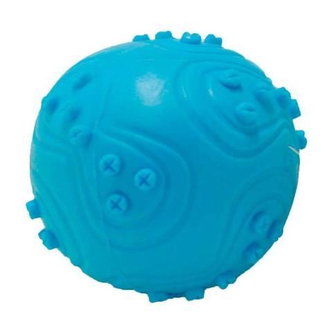 Homepet игрушка для собак Мяч с пищалкой TPR Ф 6,3см