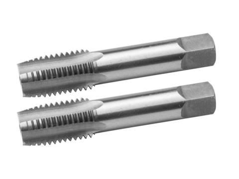 ЗУБР М6x0.75мм, комплект метчиков, сталь 9ХС, ручные, 4-28006-06-0.75-H2