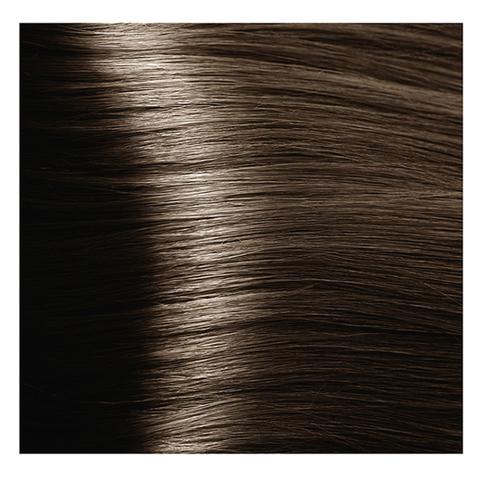 Крем краска для волос с гиалуроновой кислотой Kapous, 100 мл - HY 6.13 Темный блондин бежевый