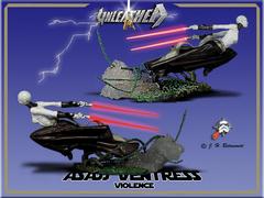 Star Wars Unleashed Asajj Ventress