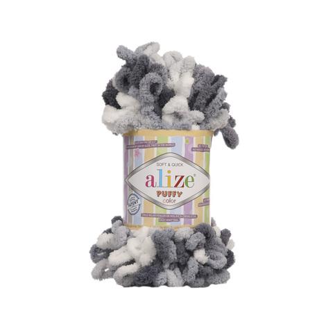 Купить Пряжа Alize Puffy Color Код цвета 5925 | Интернет-магазин пряжи «Пряха»