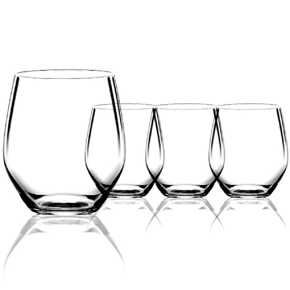 Набор из 4-х бокалов Wine Vivendi Premium, 550 мл набор из 4 х бокалов для крепких напитков stemmed spirit vivendi premium 109 мл