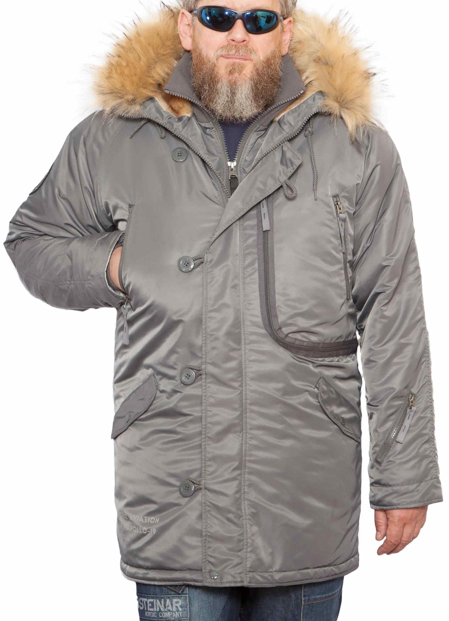 Куртка Аляска  Apolloget Expedition 2020 (оруж. серый - gun gray)