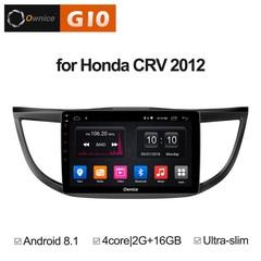 Штатная магнитола на Android 8.1 для Honda CR-V 4 12+ Ownice G10 S1641E