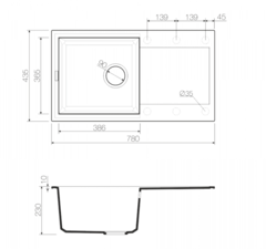 Схема Omoikiri Sakaime 78-CH