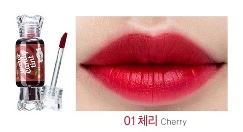 THE SAEM LIP Тинт для губ Конфетка Saemmul Water Candy Tint 01 Cherry 10g