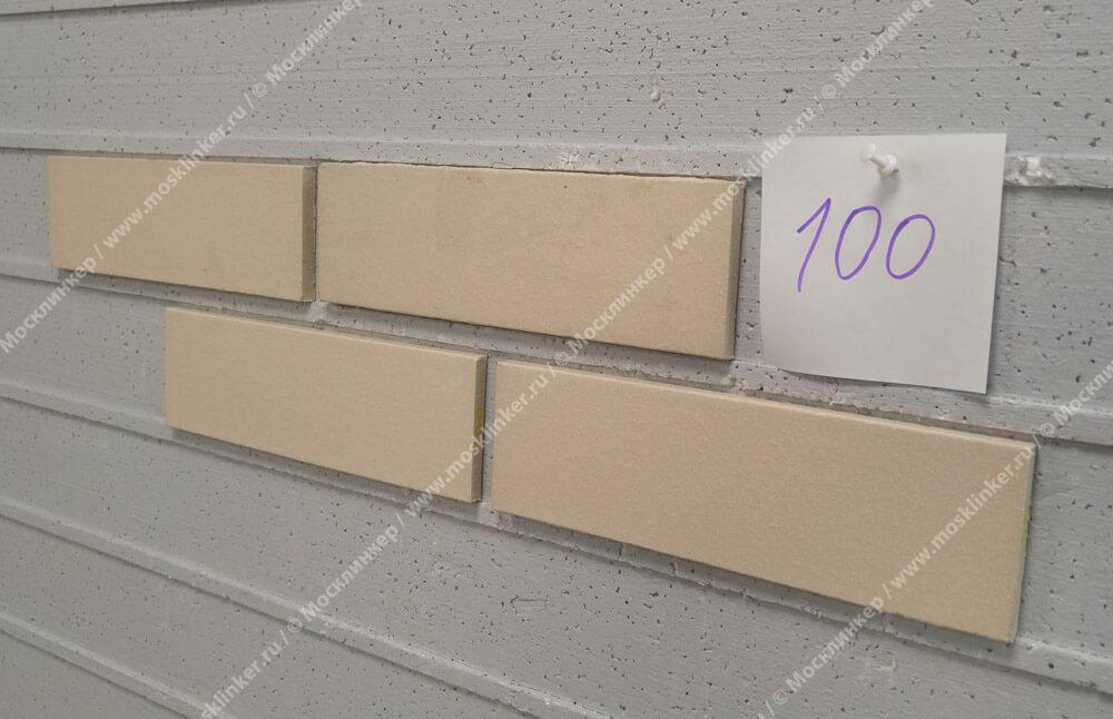 Feldhaus Klinker - R100NF9, Classic Perla Liso, 240x9x71 - Клинкерная плитка для фасада и внутренней отделки