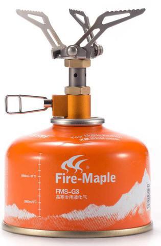 Картинка горелка туристическая Fire-Maple Hornet FMS-300T титановая