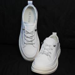 Модные туфли кроссовки летние El Passo sy9002-2 Sport White.