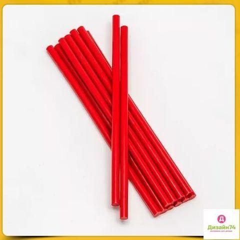 Клеевой стержень красный 7мм 1шт